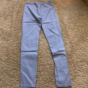 Pants - slate grey pants